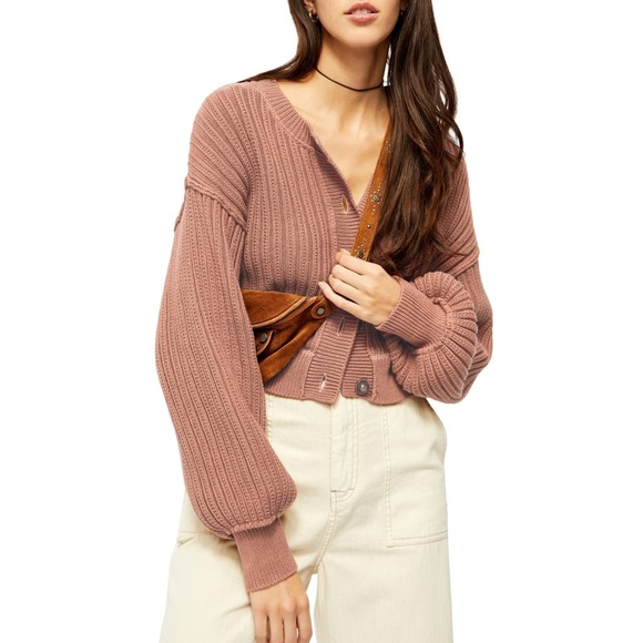 ⚡️SALE Free People All Yours Cardigan(mocha)